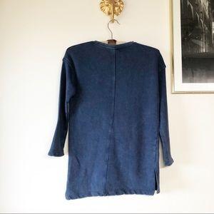 Zara Shirts & Tops - NWT! ZARA GIRLS BLUE PULLOVER. SIZE 7